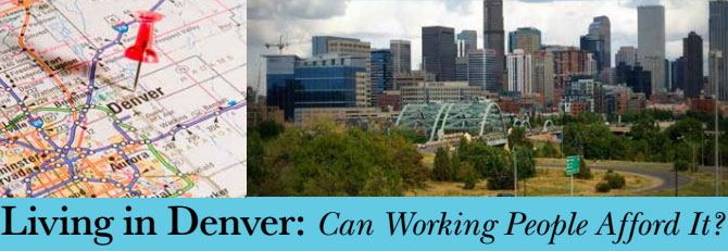 United for A New Economy Colorado - Living in Denver: Can Working People Afford it? - Become a Solidarity Member for less than 35¢ a day - Affordable Housing is a human right